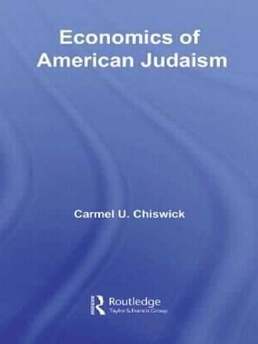 Economics of American Judaism (Paperback)