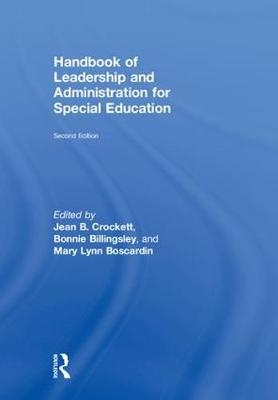 Handbook of Leadership and Administration for Special Education (Hardback)