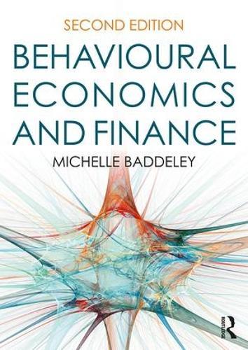 Behavioural Economics and Finance (Paperback)