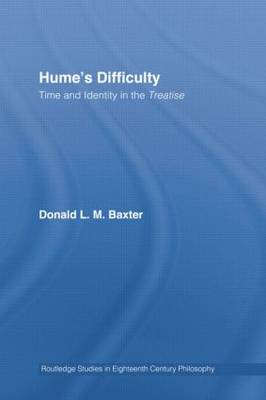 Hume's Difficulty: Time and Identity in the Treatise (Paperback)