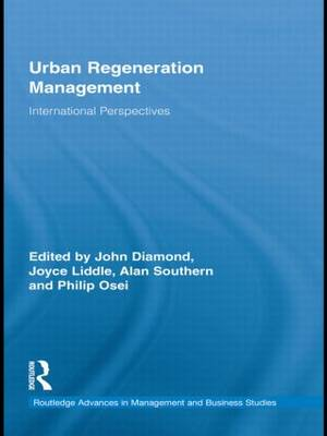 Urban Regeneration Management: International Perspectives (Paperback)
