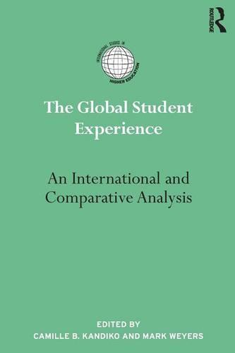 The Global Student Experience: An International and Comparative Analysis (Paperback)