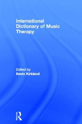 International Dictionary of Music Therapy (Hardback)