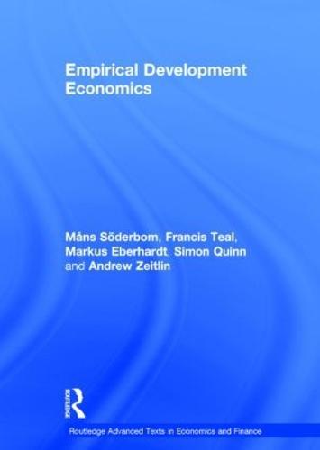 Empirical Development Economics - Routledge Advanced Texts in Economics and Finance (Hardback)