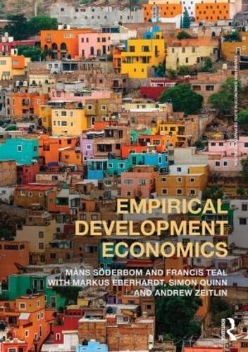 Empirical Development Economics - Routledge Advanced Texts in Economics and Finance (Paperback)