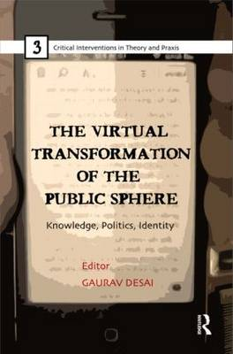 The Virtual Transformation of the Public Sphere: Knowledge, Politics, Identity - Critical Interventions in Theory and Praxis (Hardback)