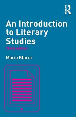 An Introduction to Literary Studies (Paperback)