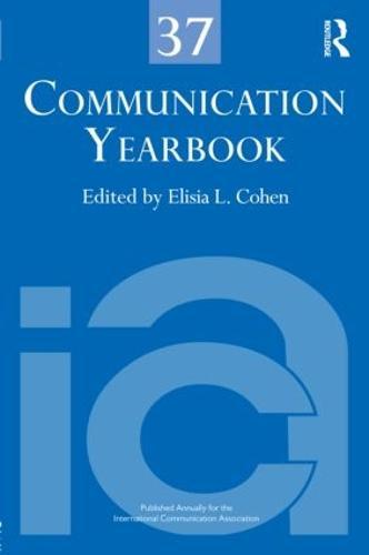 Communication Yearbook 37 (Hardback)