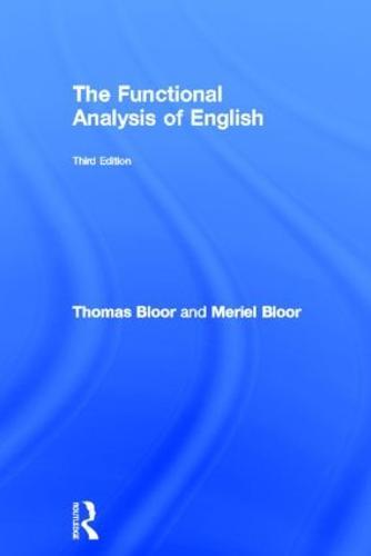 The Functional Analysis of English (Hardback)