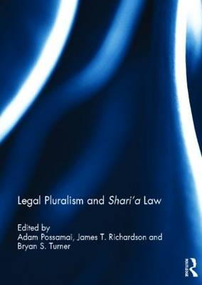 Legal Pluralism and Shari'a Law (Hardback)