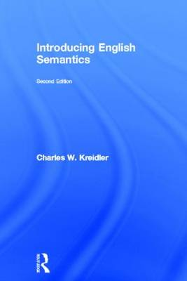 Introducing English Semantics (Hardback)