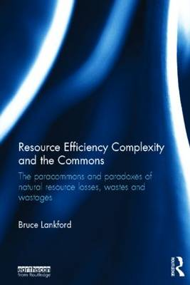 Resource Efficiency Complexity and the Commons: The Paracommons and Paradoxes of Natural Resource Losses, Wastes and Wastages (Hardback)