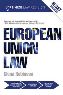 Optimize European Union Law - Optimize (Paperback)