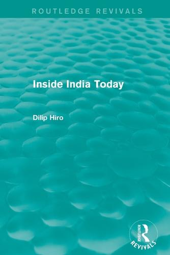 Inside India Today (Paperback)