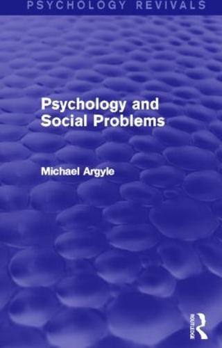 Psychology and Social Problems (Psychology Revivals) - Psychology Revivals (Hardback)