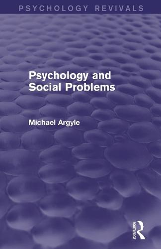 Psychology and Social Problems (Paperback)
