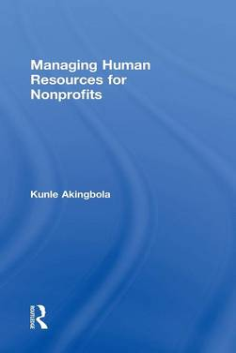 Managing Human Resources for Nonprofits (Hardback)