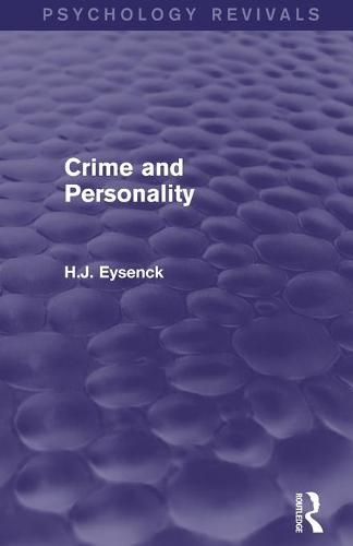 Crime and Personality (Paperback)