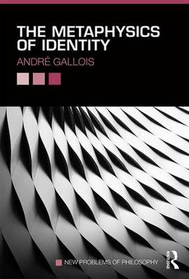The Metaphysics of Identity - New Problems of Philosophy (Paperback)