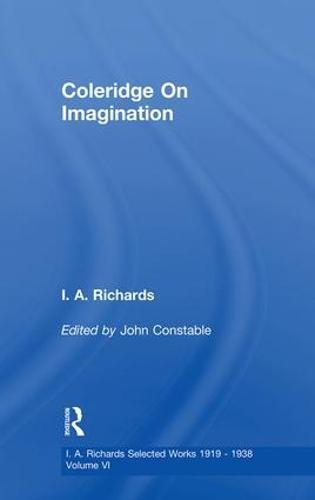 Coleridge on Imagination: Volume 6 (Paperback)