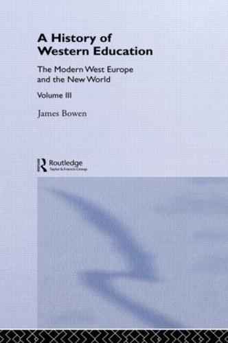 Hist West Educ:Modern West V3 (Paperback)
