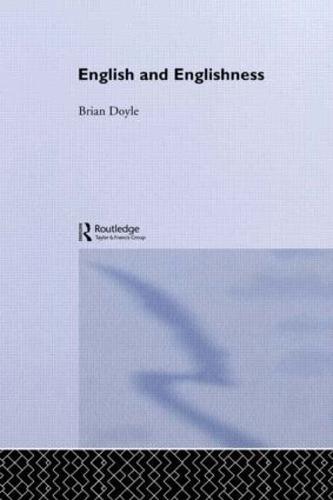 English & Englishness (Paperback)