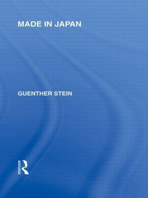 Made in Japan - Routledge Library Editions: Japan (Paperback)