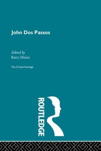 John Dos Passos (Paperback)