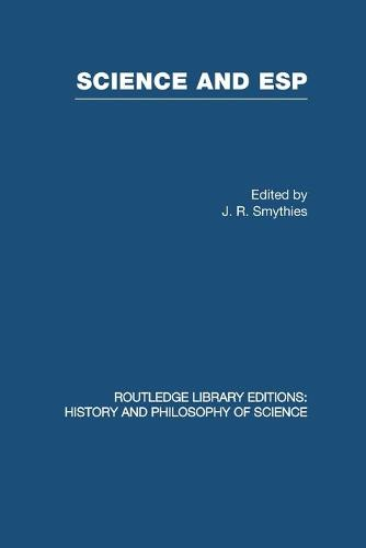 Science and ESP - Routledge Library Editions: History & Philosophy of Science (Paperback)