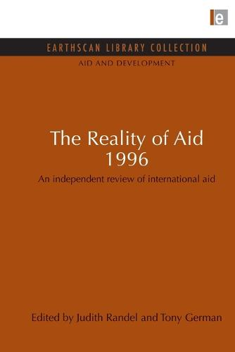 The Reality of Aid 1996: An Independent Review of International Aid - Aid and Development Set (Paperback)