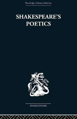 Shakespeare's Poetics: In relation to King Lear (Paperback)