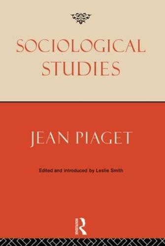 Sociological Studies (Paperback)