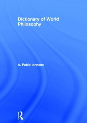 Dictionary of World Philosophy (Paperback)