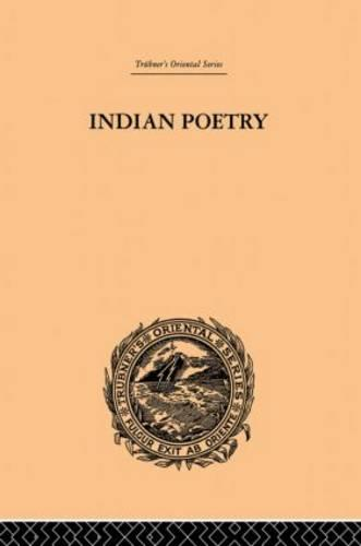 Indian Poetry (Paperback)