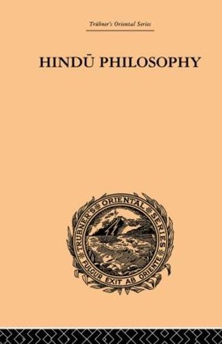 Hindu Philosophy: The Sankhya Karika of Iswara Krishna (Paperback)
