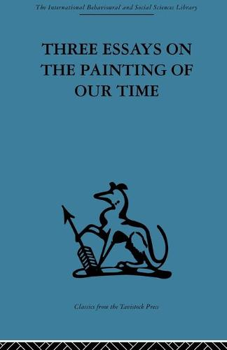 Three Essays on the Painting of our Time (Paperback)