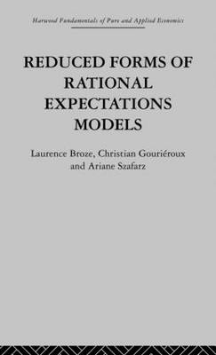 Reduced Forms of Rational Expectations Models (Paperback)