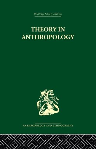 Theory in Anthropol Liban: Volume 86 (Paperback)