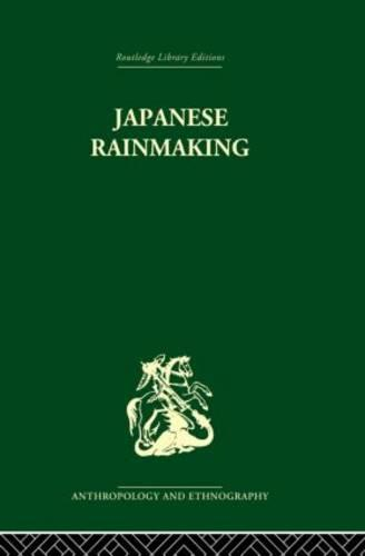 Japanese Rainmaking and other Folk Practices (Paperback)