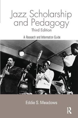 Jazz: Research and Pedagogy - Routledge Music Bibliographies (Paperback)