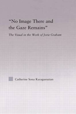 No Image There and the Gaze Remains: The Visual in the Work of Jorie Graham - Studies in Major Literary Authors (Paperback)