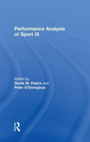 Performance Analysis of Sport IX (Paperback)
