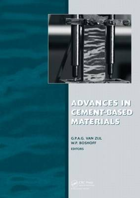 Advances in Cement-Based Materials: Proc. Int. Conf. Advanced Concrete Materials, 17-19 Nov. 2009, Stellenbosch, South Africa (Hardback)