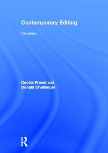 Contemporary Editing (Hardback)