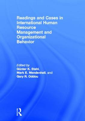 Readings and Cases in International Human Resource Management and Organizational Behavior (Hardback)