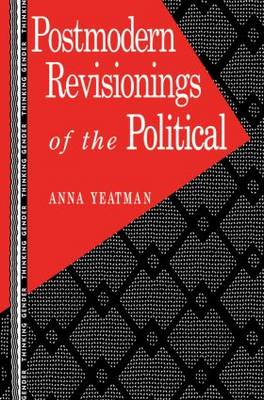 Postmodern Revisionings of the Political - Thinking Gender (Paperback)