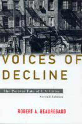 Voices of Decline: The Postwar Fate of US Cities (Paperback)