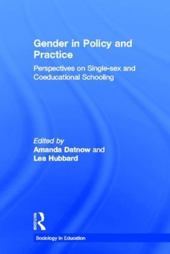 sociology gender education
