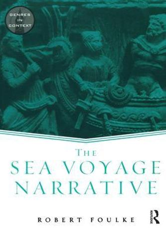 The Sea Voyage Narrative - Genres in Context (Paperback)