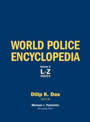 World Police Encyclopedia: 2-volume set (Hardback)